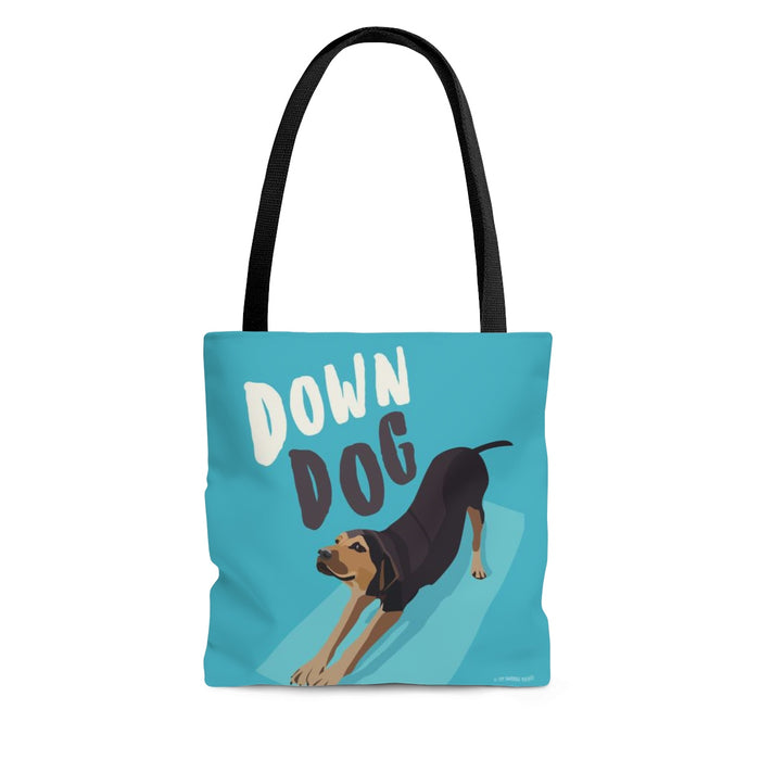 Down Dog Tote Bag