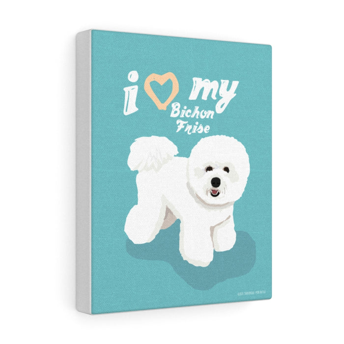 Bichon Frise Canvas Gallery Wrap