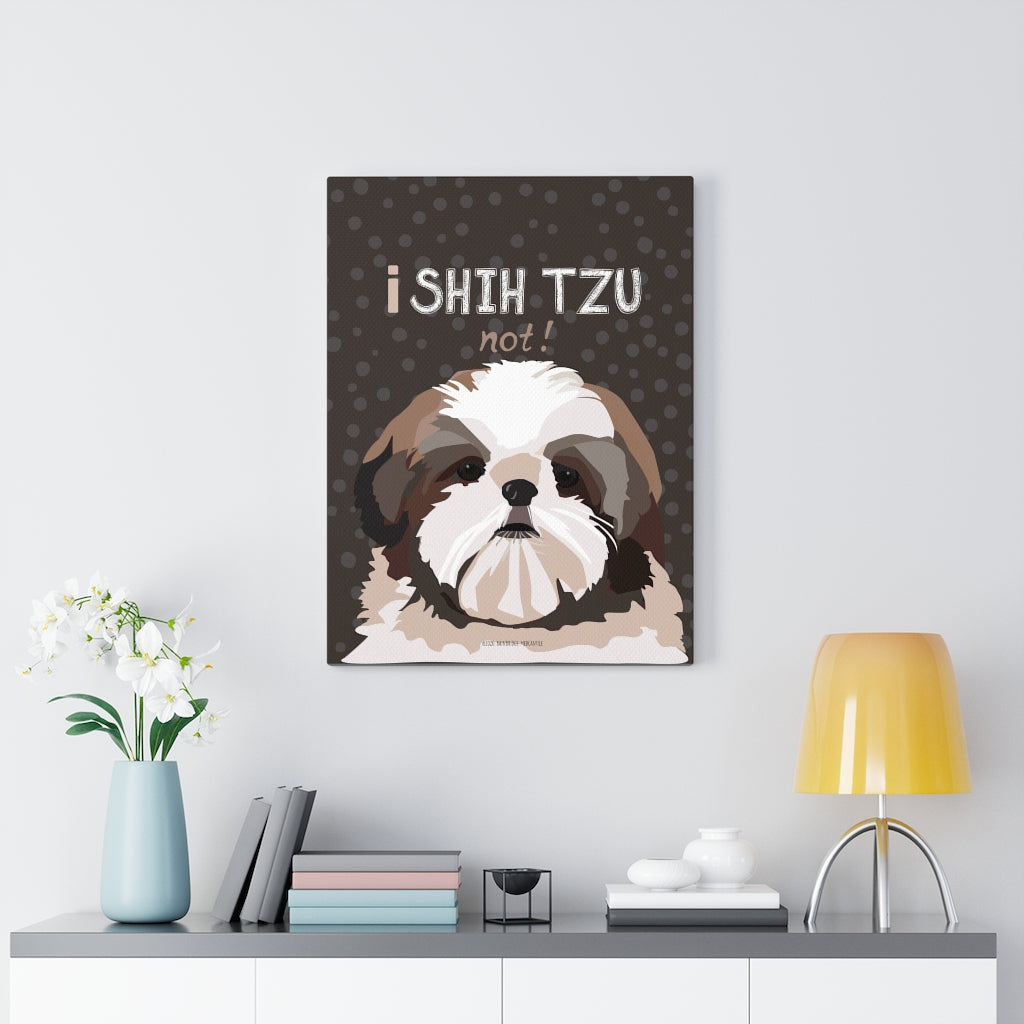 Shih Tzu Canvas Gallery Wrap