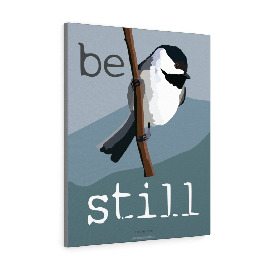 Be Still Canvas Gallery Wrap