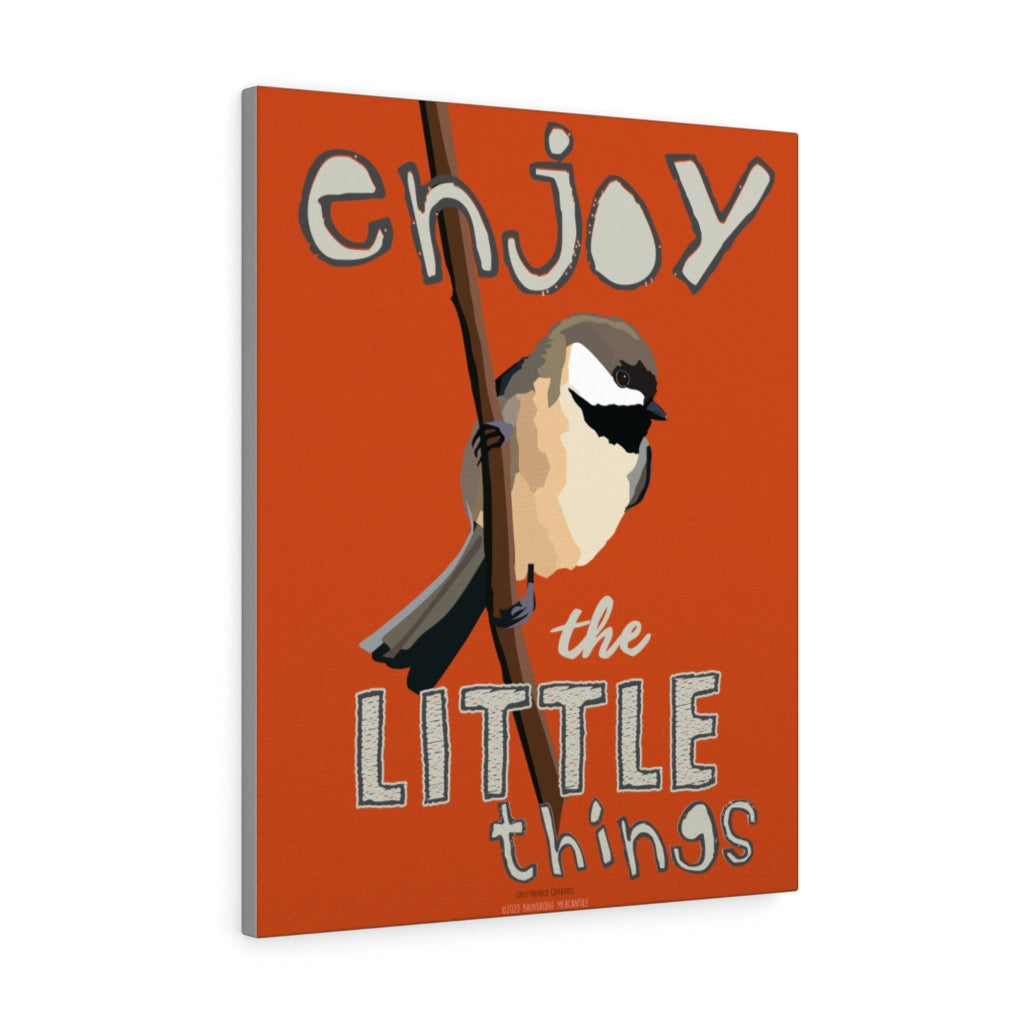 Enjoy The Little Things Canvas Gallery Wrap