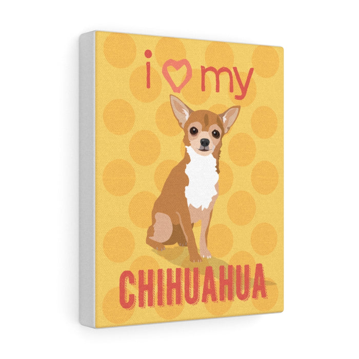 Chihuahua (fawn) Canvas Gallery Wrap