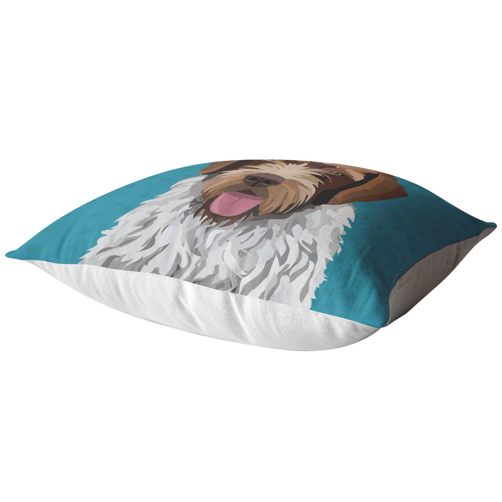 Wirehaired Pointing Griffon Pillow
