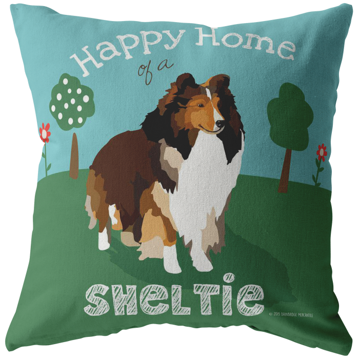 Sheltie Pillow