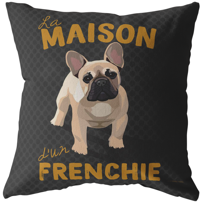 Frenchie (Tan Dog) Pillow