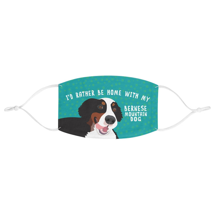 Bernese Mountain Dog Face Mask