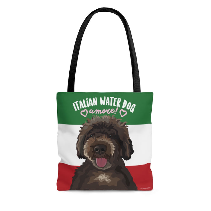 Italian Water Dog Tote Bag