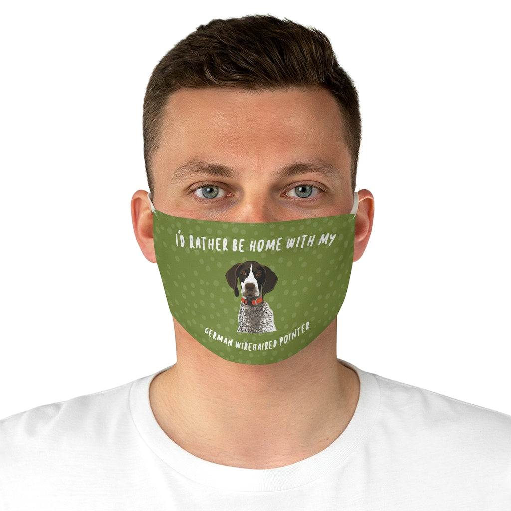 German Wire-haired Pointer Face Mask