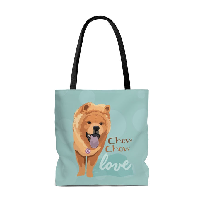 Chow Chow (Tan Dog) Tote Bag