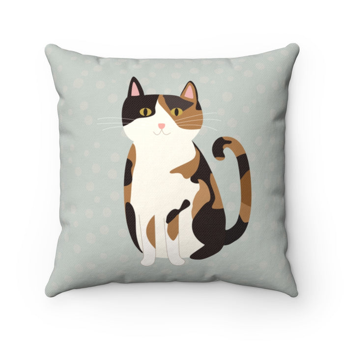Calico Cat Pillow