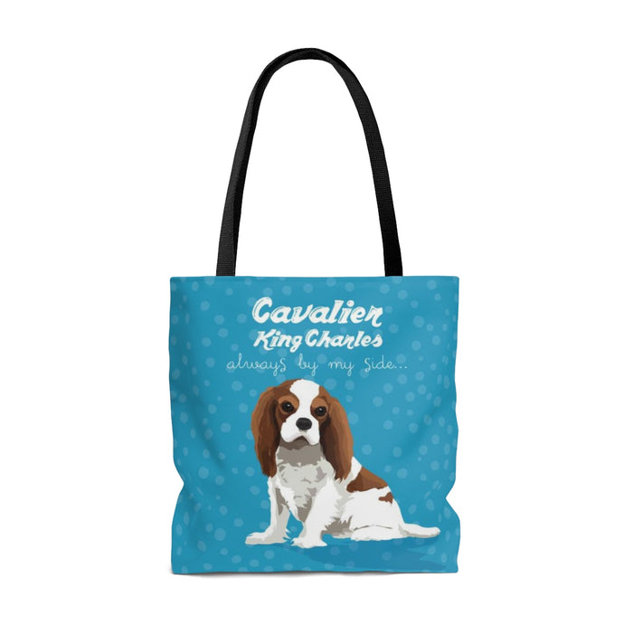 Cavalier King Charles (Blenheim Dog) Tote Bag