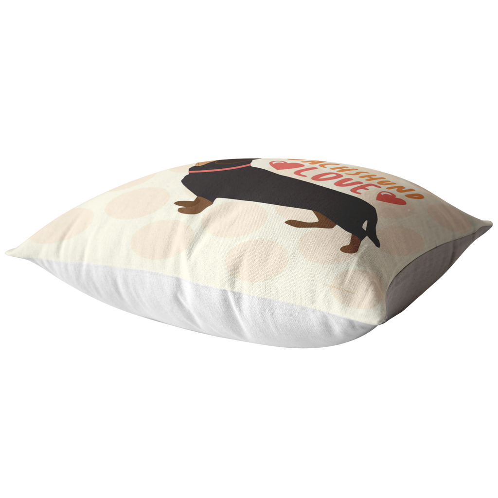 Dachshund (Black & Tan) Pillow