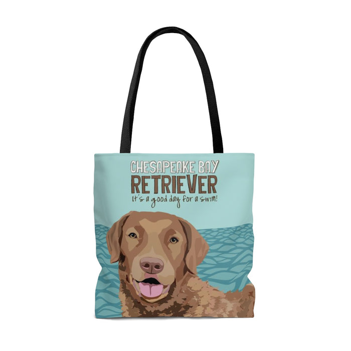 Chesapeake Bay Retriever Tote Bag
