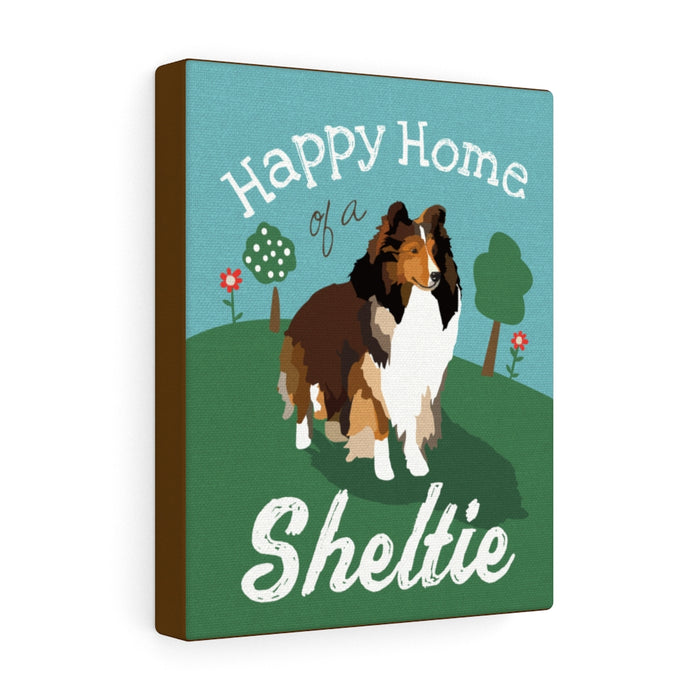 Sheltie Canvas Gallery Wrap
