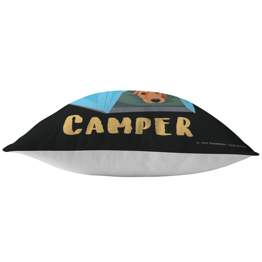 Happy Camper Pillow