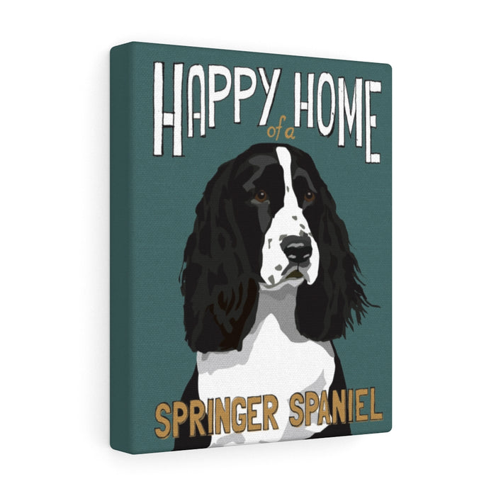 Springer Spaniel Canvas Gallery Wrap