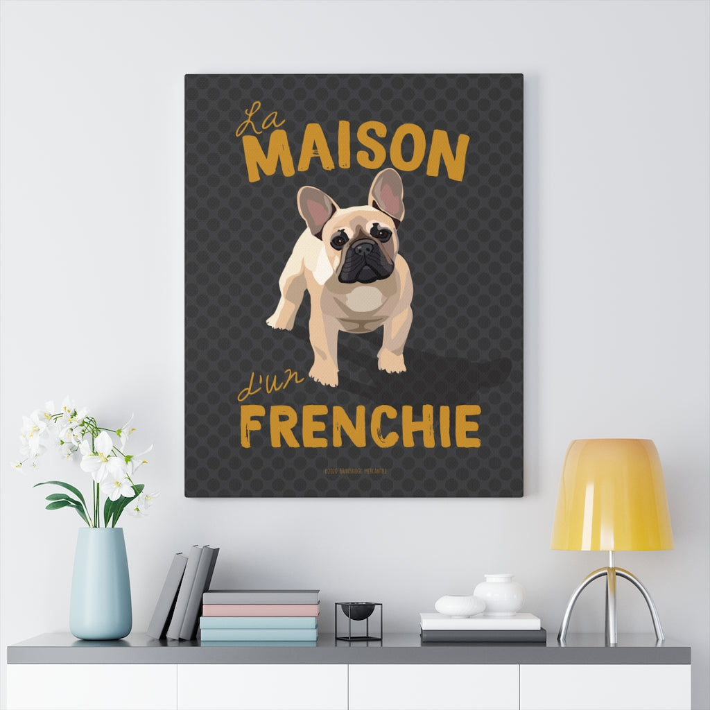 French (tan) Canvas Gallery Wrap