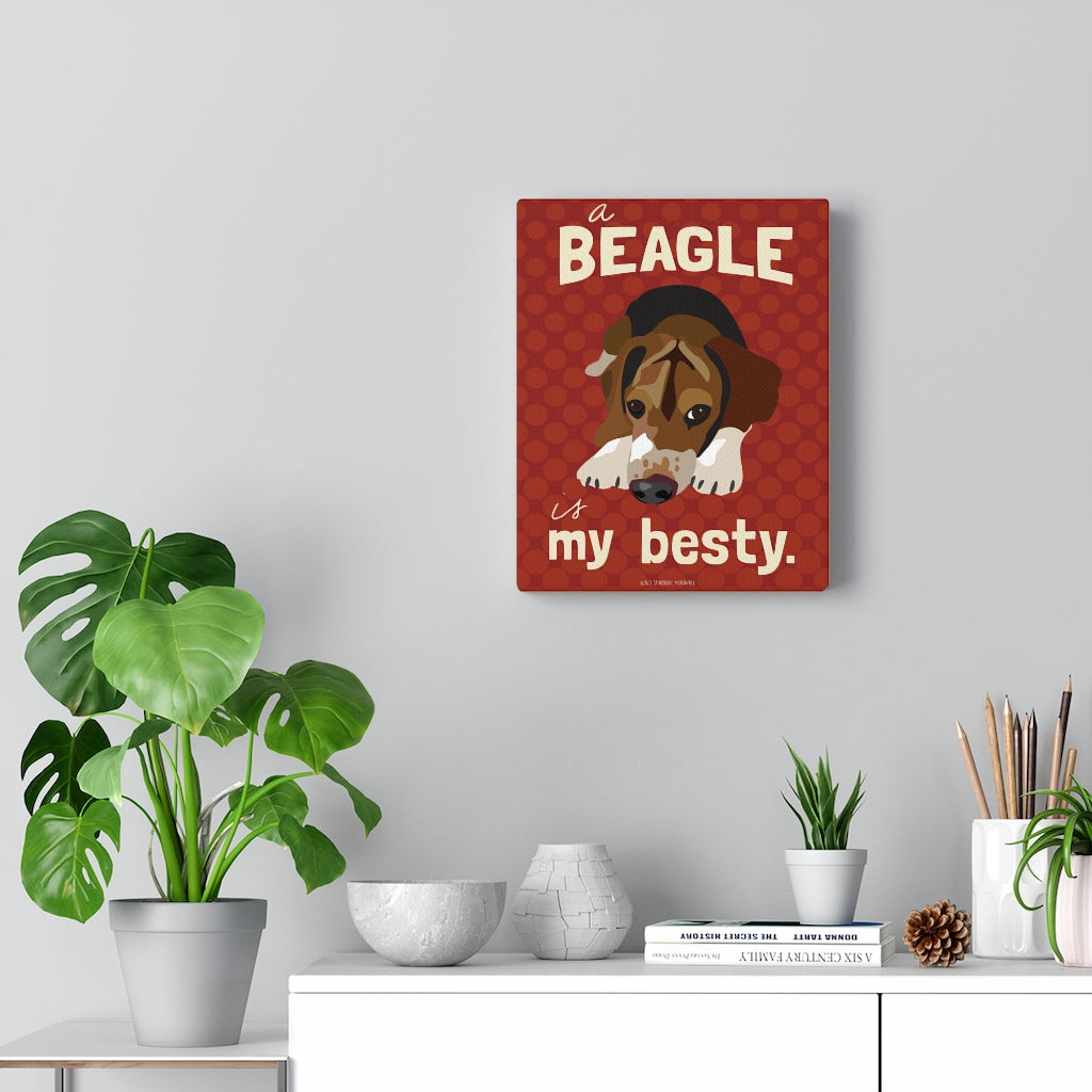 Beagle - Canvas Gallery Wrap