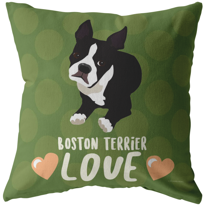 Boston Terrier Pilow