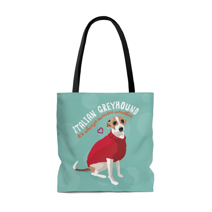 Italian Greyhound Tote Bag