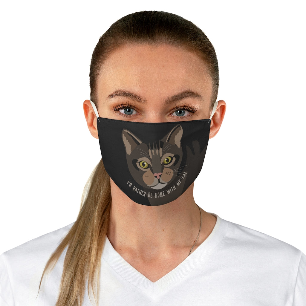 Cat (Tabby) Face Mask