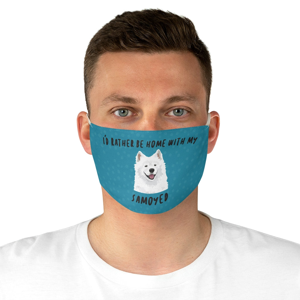 Samoyed Face Mask
