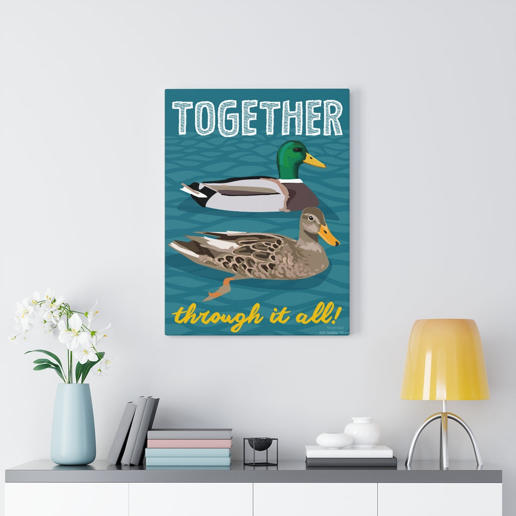 Together Through It All Canvas Gallery Wrap