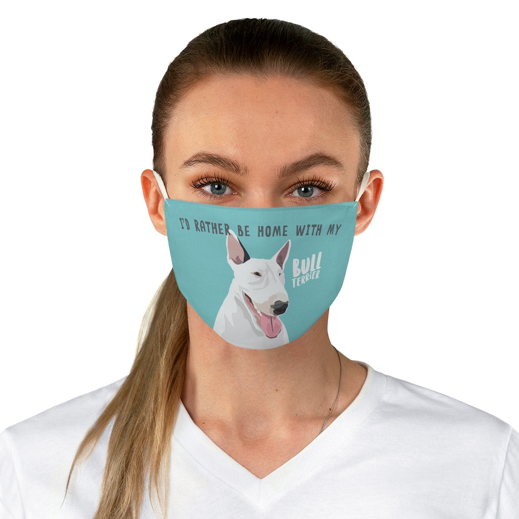 Bull Terrier Face Mask