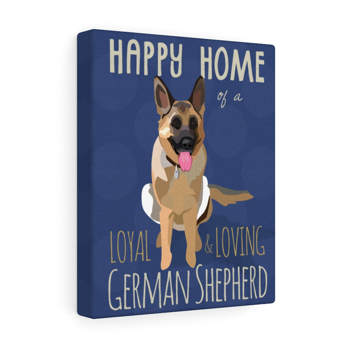 German Shepherd Canvas Gallery Wrap