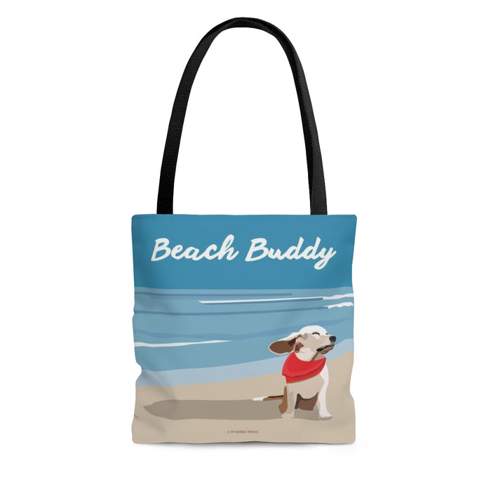 Beach Buddy Tote Bag