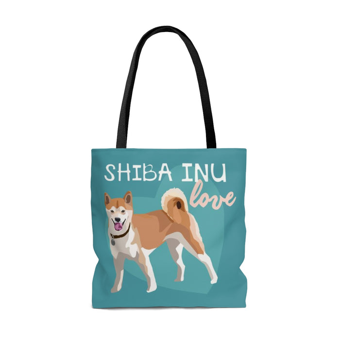Shibu Inu (Tan Dog) Tote Bag
