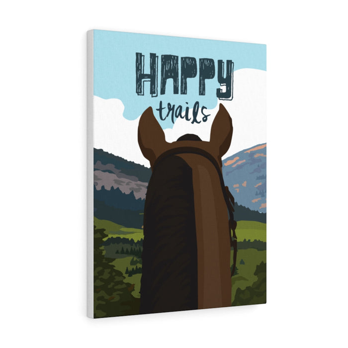 Happy Trails Canvas Gallery Wrap