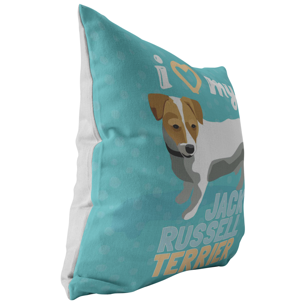 Jack Russel Terrier Pillow