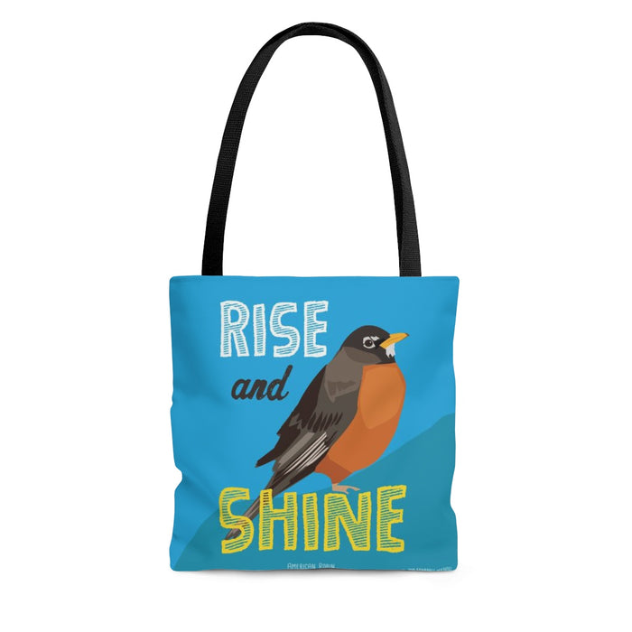 Rise and Shine (American Robin) Tote Bag