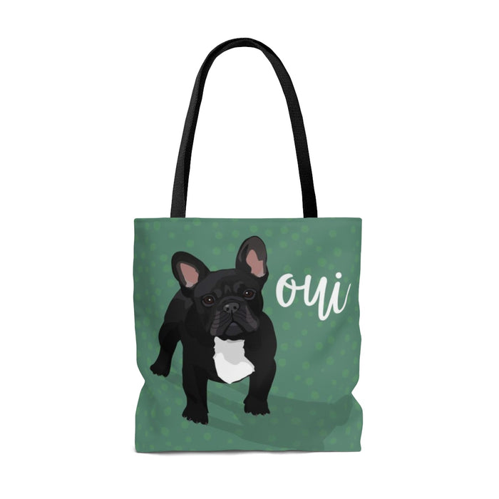 French Bulldog (Black Dog) Tote Bag