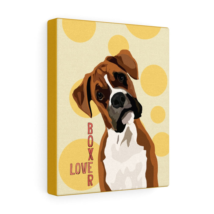 Boxer Canvas Gallery Wrap