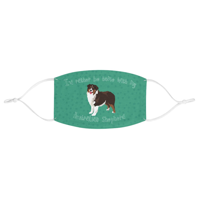 Australian Shepherd (Brown) Face Mask