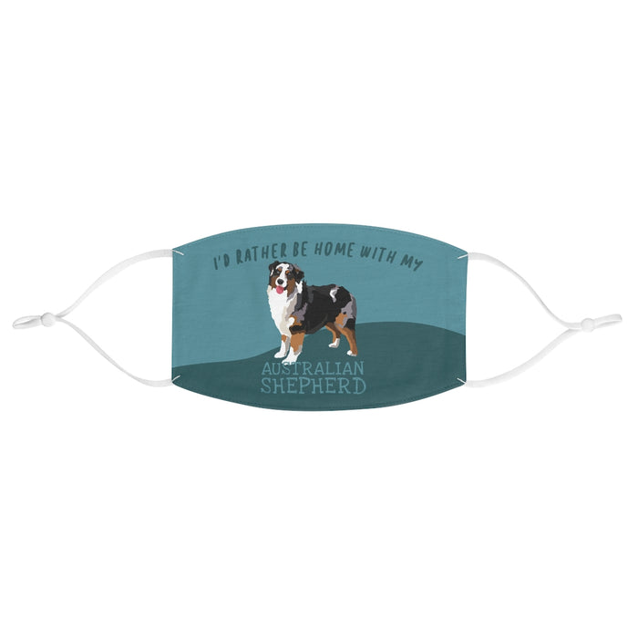 Australian Shepherd Tri Color Face Mask