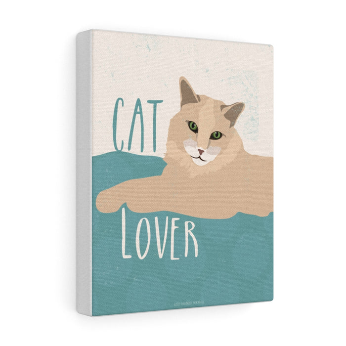 Cat Lover Canvas Gallery Wrap