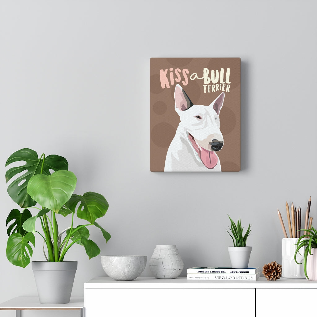 Bull Terrier - Canvas Gallery Wrap