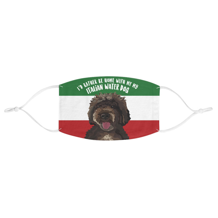 Italian Water Dog Face Mask