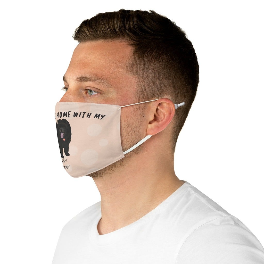 Chow Chow (Black) Face Mask