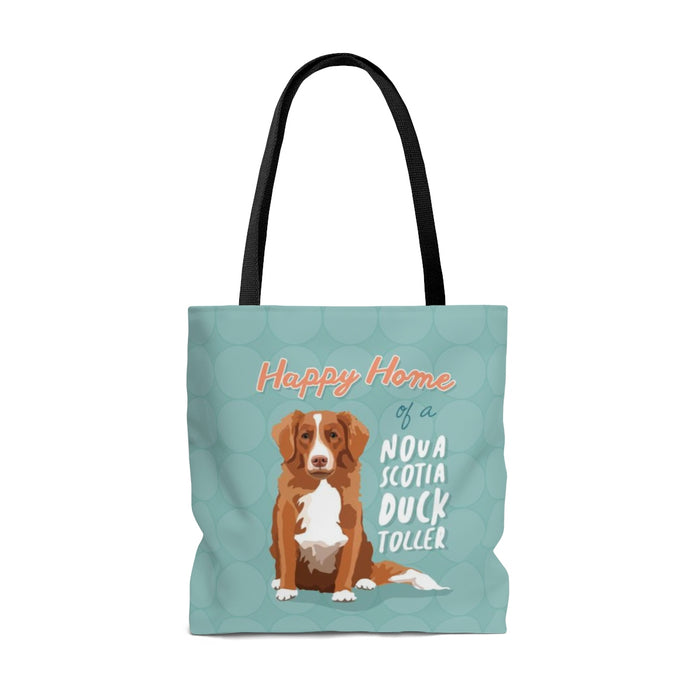 Nova Scotia Duck Toller Tote Bag