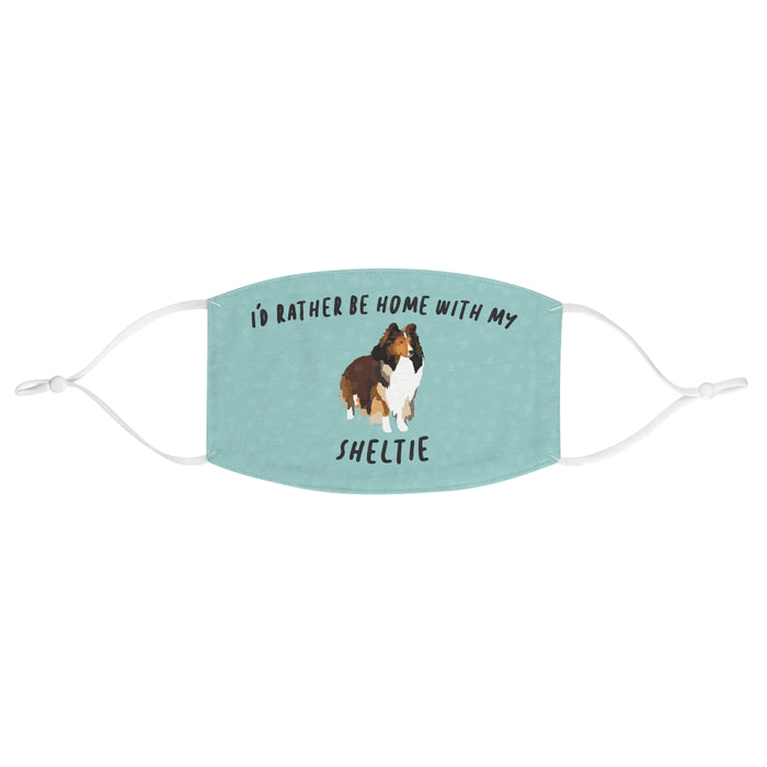 Sheltie Face Mask