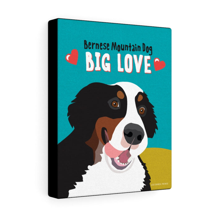 Bernese Mountain Dog - Canvas Gallery Wrap