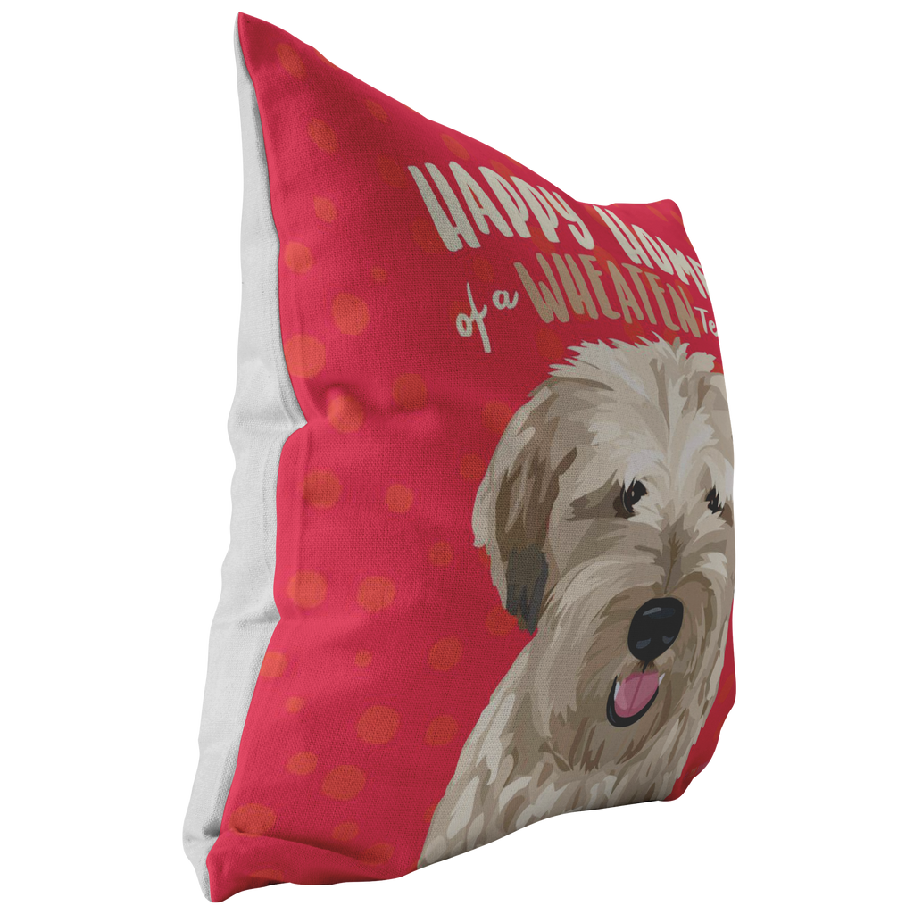 Wheaten Terrier Pillow