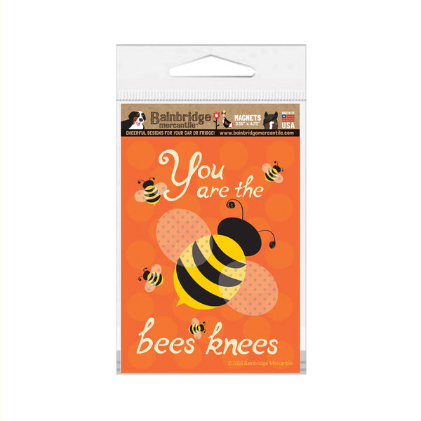 "Bees Knees Magnet - 3.56"" x 4.75"""