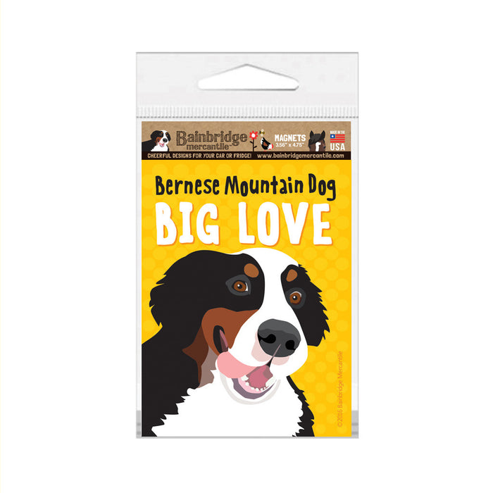 "Bernese Mountain Dog Magnet - 3.56"" x 4.75"""
