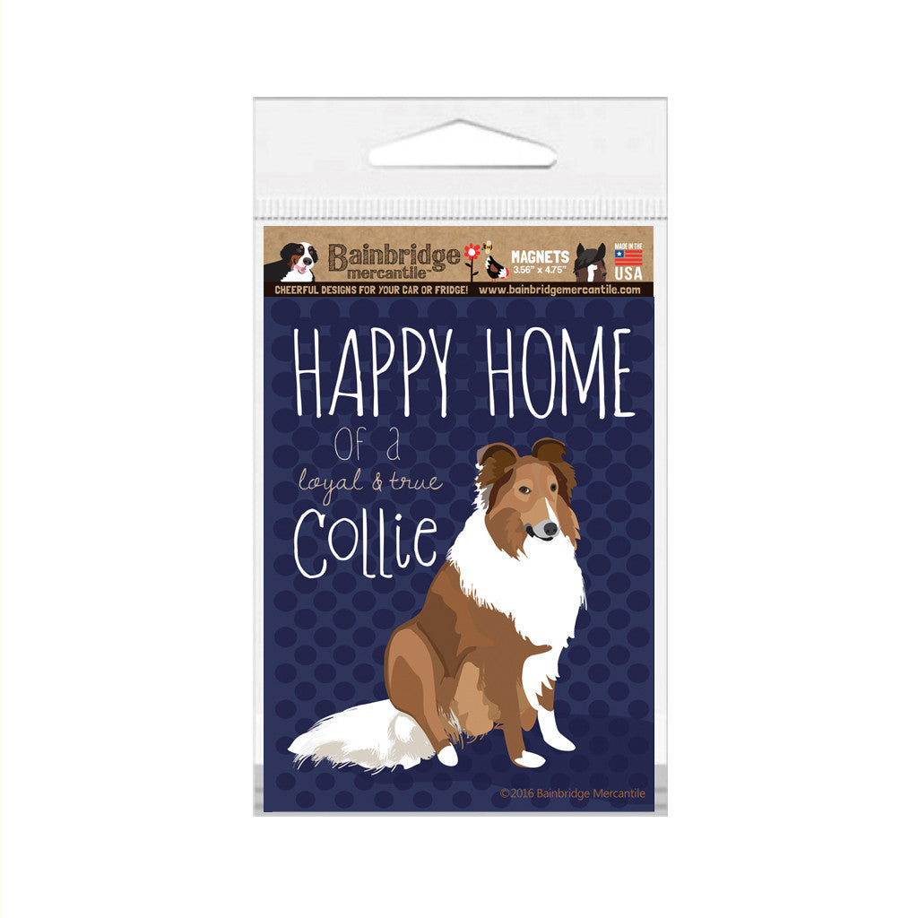 "Collie Magnet - 3.56"" x 4.75"""