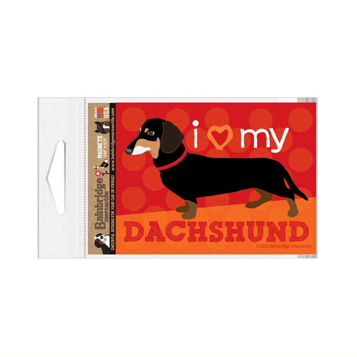 "Dachshund (Black & Tan Dog) Magnet - 3.56"" x 4.75"""